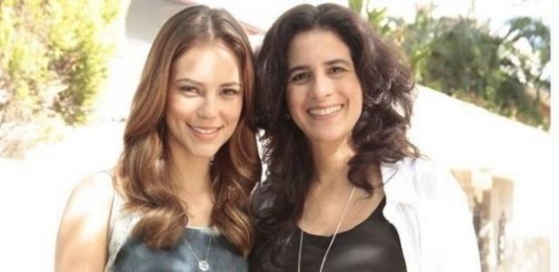 """Em """"Amor à Vida"""", Paolla Oliveira (esq.) vive a médica Paloma, que é filha da ex-bailarina Mariah (Lúcia Veríssimo)"""