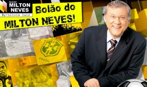 Reprodu��o/Blog do Milton Neves