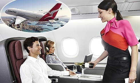 Divulga��o/Qantas Airlines
