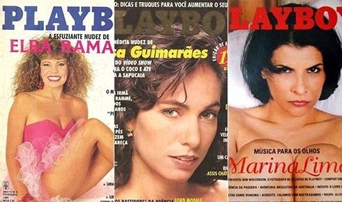 Reprodu��o/Playboy/Montagem BOL