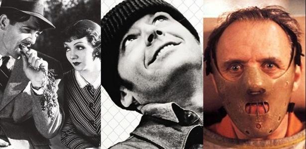 """Apenas três filmes até hoje já levaram os chamados """"Big Five"""": filme, diretor, roteiro, ator e atriz. São eles """"Aconteceu Naquela Noite"""" (1934), """"Um Estranho no Ninho"""" (1975) e """"O Silêncio dos Inocentes"""" (1991).  - Reprodução Vírgula"""