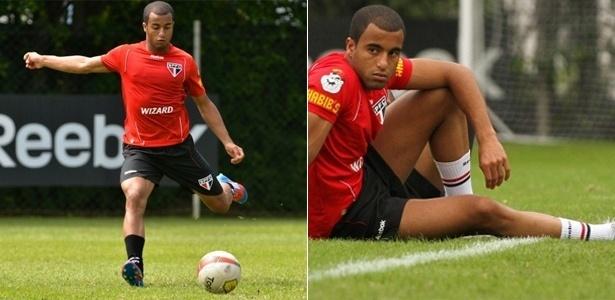 Na opinião da gata, o meia do São Paulo Lucas tem as mais belas coxas entre os atletas