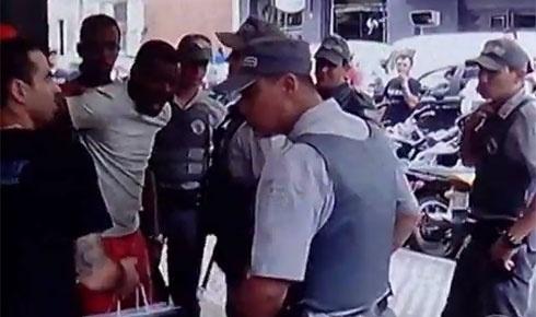Claudinei Corrêa defende o filho e o genro de abordagem policial